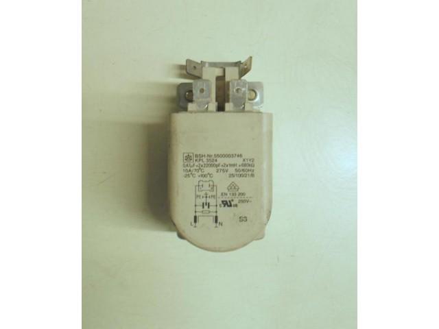 Condensatore lavatrice Bosch WOP2051 cod 5500003746