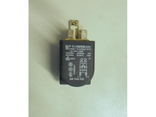 Condensatore lavatrice Siemens WP80800II/02 cod F 11.126/856-331