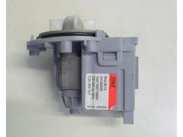 Pompa lavatrice Ariston AVTL109 cod 16001746001