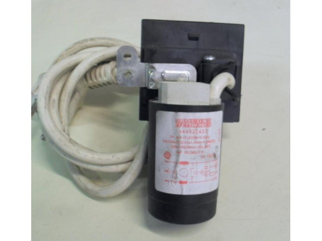 Condensatore lavatrice Ariston AVTL109 cod 444622433