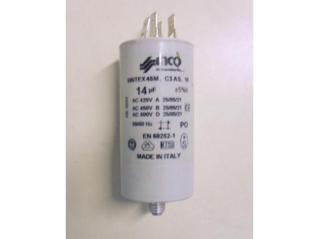 Condensatore lavatrice Philco NORMA 3 cod 45M.C3 AS.14