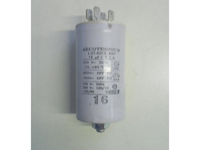 Condensatore lavatrice Ariston ABS636TX cod 1.276SC3
