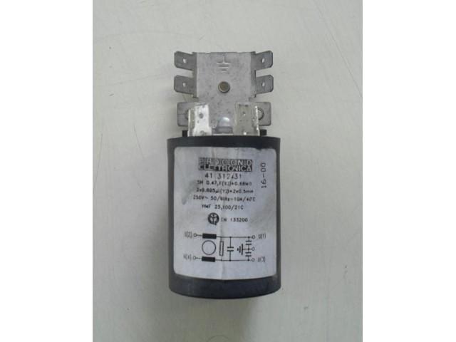 Condensatore lavatrice WegaWhite W1039X cod 411312431