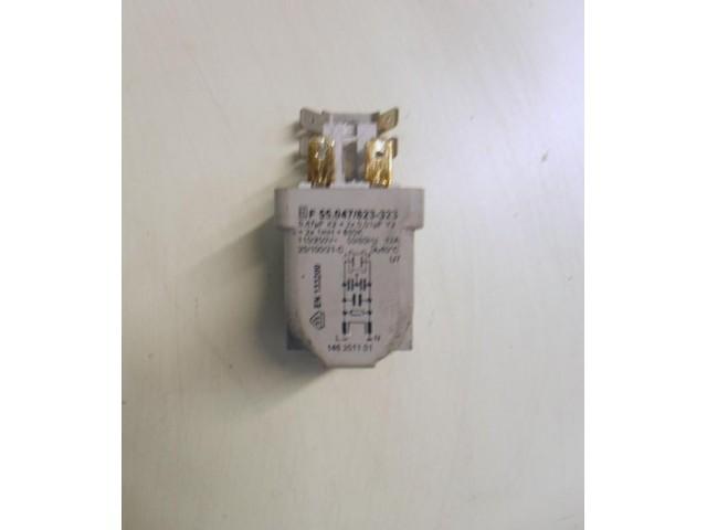Condensatore lavatrice Zoppas PT80A cod F 55.047/823-323