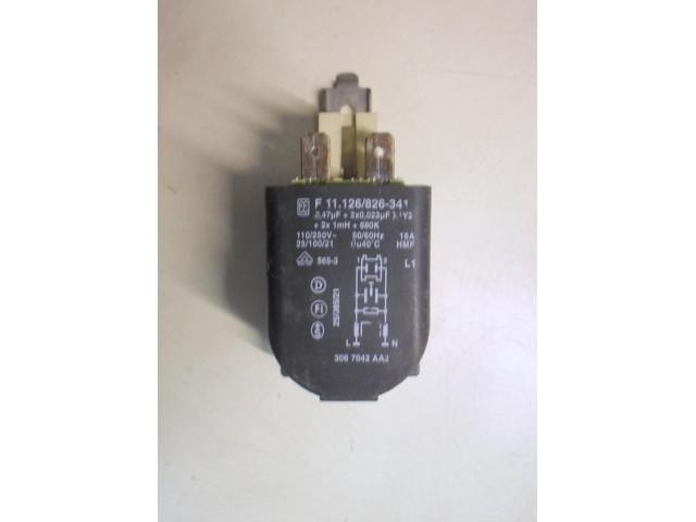 Condensatore lavatrice Siemens WM60801IE/01 cod F 11.126/826-341