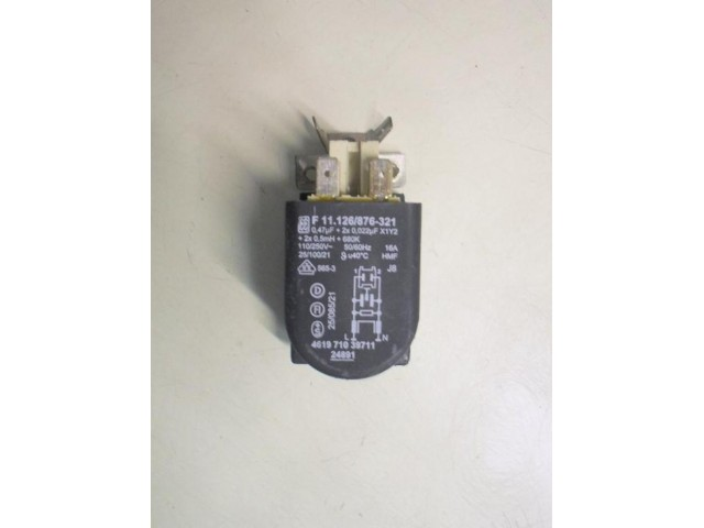 Condensatore lavatrice Whirlpool AWM7100/6 cod F 11.126/876-321