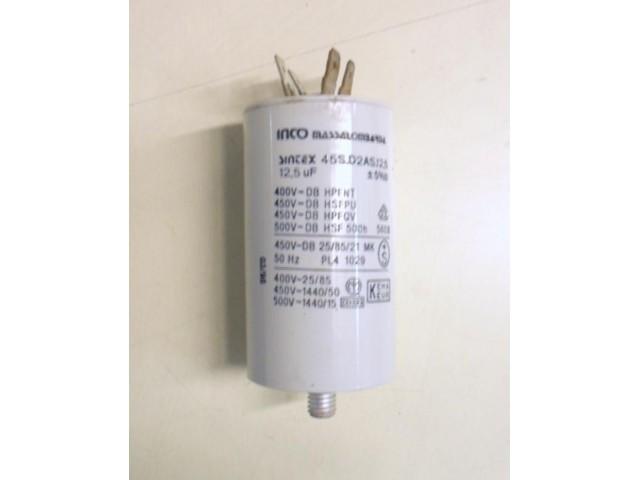 Condensatore lavatrice Zerowatt CX647 cod 45S.D2AS.12.5
