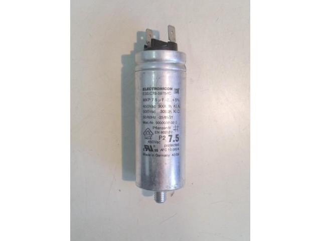 Condensatore lavatrice Bosch WTW86561 cod 9000008130