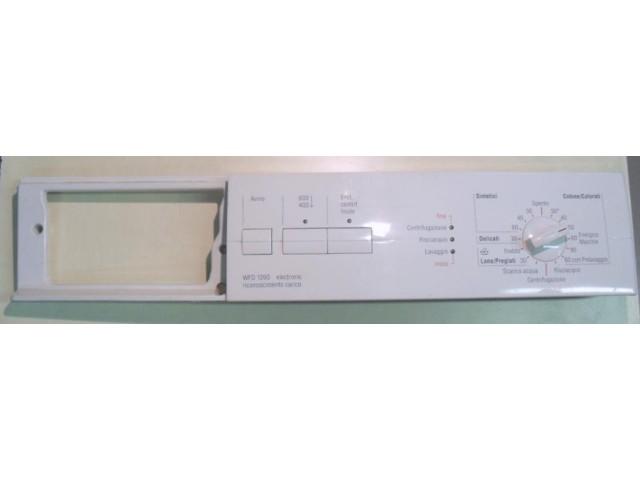 FRONTALE PER LAVATRICE BOSCH WFD1260II/03 COMPLETO DI SCHEDA COMANDI COD. 5500006095