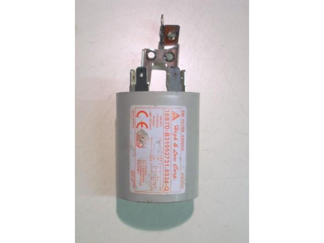 Condensatore lavatrice Hoover DST8166P cod 41009175