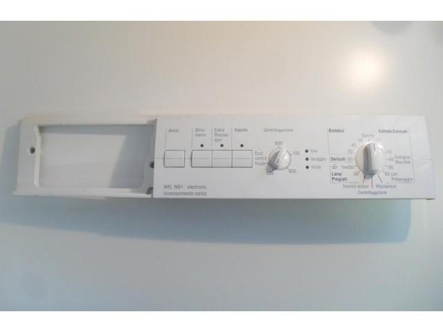 FRONTALE PER LAVATRICE BOSCH WFL1661   COMPLETO DI SCHEDA COMANDI COD. 5500000352