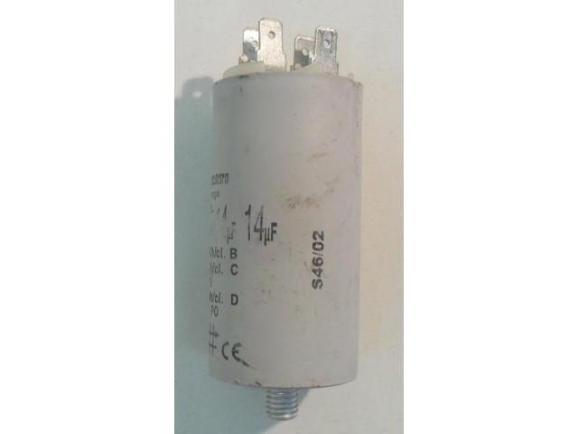 Condensatore lavatrice Rex LC 42 cod EN 60252