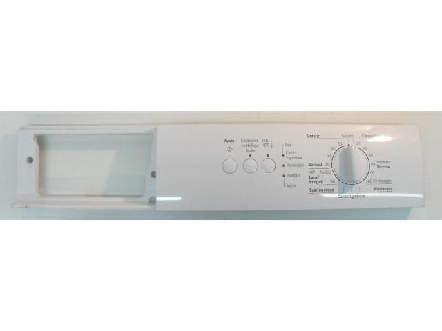 Frontale lavatrice Bosch WAA12161II/11completo di scheda comandi 5560004325