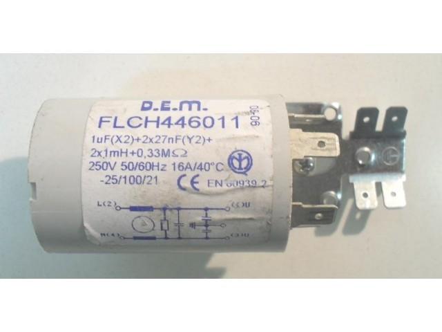 Condensatore lavatrice Sangiorgio TUA167 cod FLCH446011