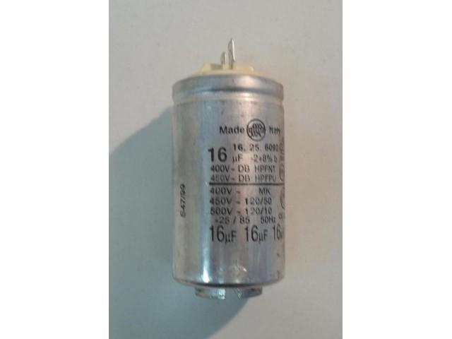 Condensatore lavatrice Rex RL 54XG cod 16.25.6092