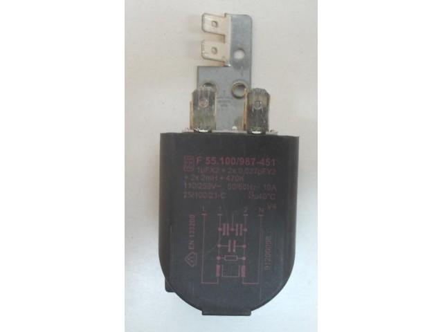 Condensatore lavatrice Hoover HN50 cod F 55.100/987-451