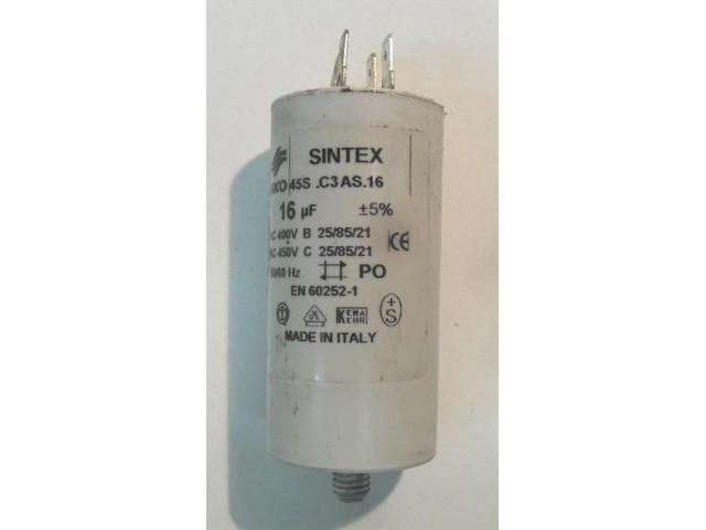Condensatore lavatrice Philco LINDA 6 cod 45S.C3AS.16