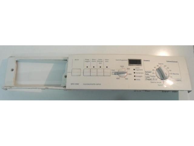 FRONTALE PER LAVATRICE BOSCH WFO2062IT/09 FD 8506   COMPLETO DI SCHEDA COMANDI COD. 5560 000 031