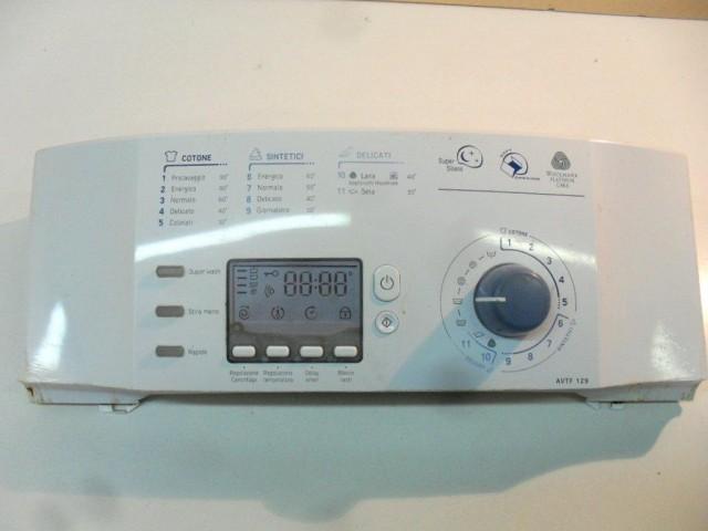 21010080302   frontale   lavatrice ariston avtf129