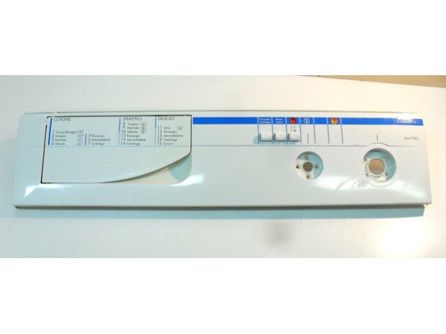 frontale   con selettori   lavatrice ariston ba 67tx/1