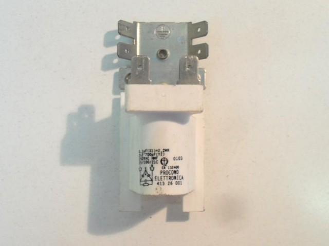 Condensatore lavatrice Candy ALISE065 cod 41326001