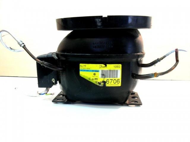 nl7f   compressore   frigorifero ariston de286, kelvinator k18 alu
