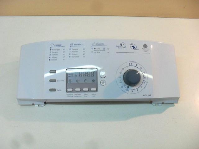 08037462   frontale   lavatrice ariston avtf129