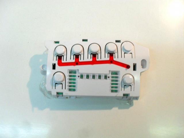 41021023   pulsantiera   lavatrice hoover vhd 912-30