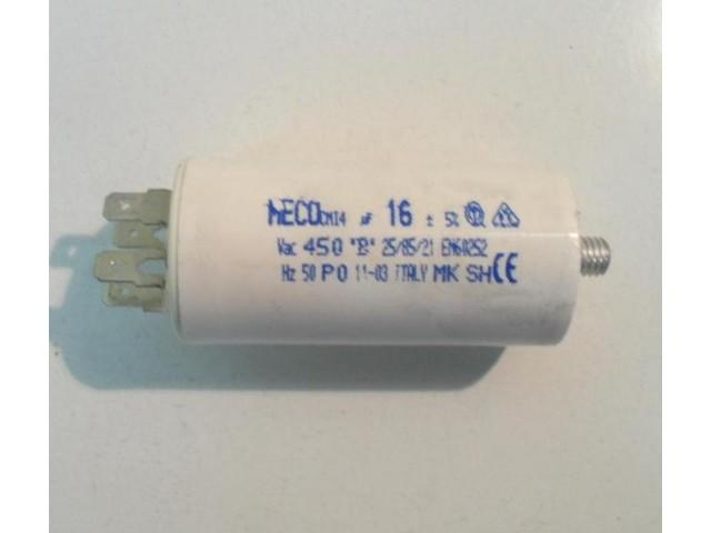 Condensatore lavatrice Siltal DT600ZT cod