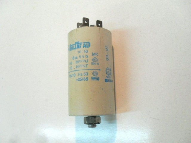 Condensatore lavatrice Zerowatt 040 cod 16040