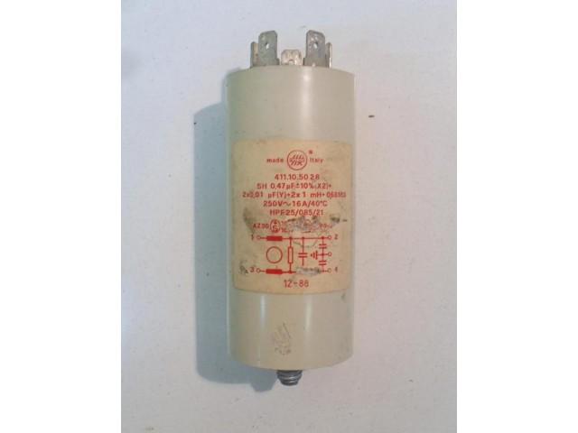 Condensatore lavatrice Ariston AM873X cod 411105028