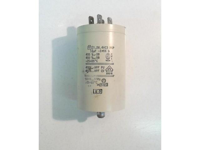Condensatore lavatrice Zanussi C80971 cod 1.26.4hc3