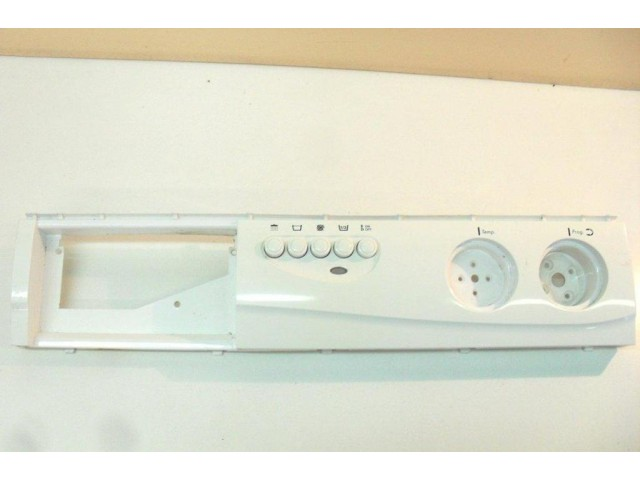 frontale   selettori    lavatrice WegaWhite w450t
