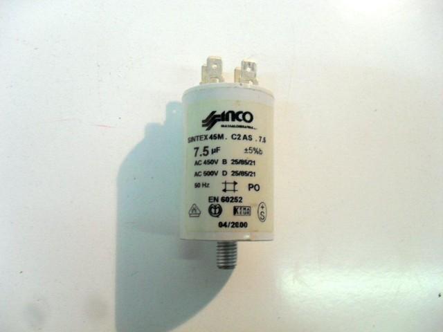 Condensatore lavatrice Candy LB6T cod en60252