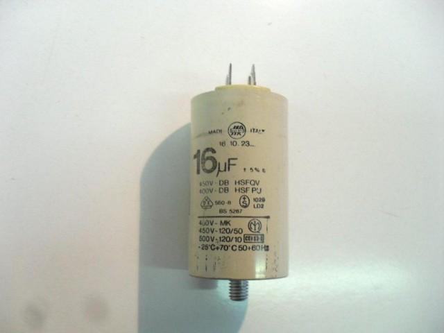 Condensatore lavatrice Ariston AI637TX cod 16.10.23