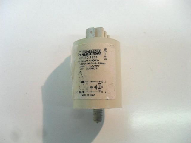 Condensatore lavatrice Zoppas PR63C cod 411.10.1201