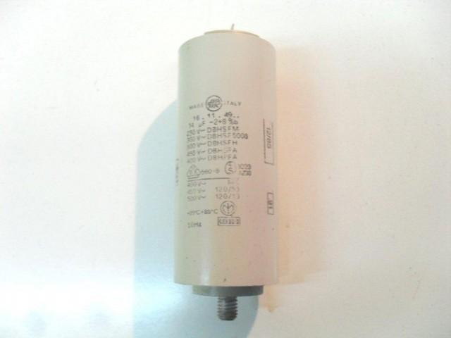 Condensatore lavatrice Castor C70010 cod 16.11.49..