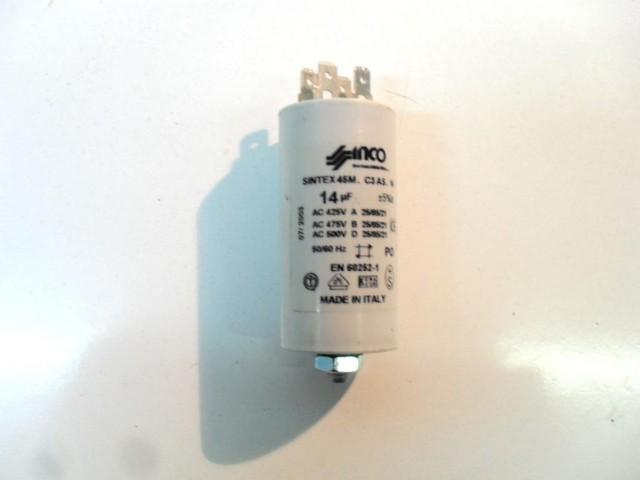 Condensatore lavatrice Bompani BO05211E cod en60252-1