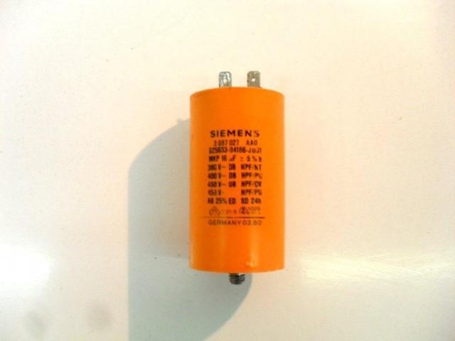 Condensatore lavatrice Rex RL83 cod 3087027