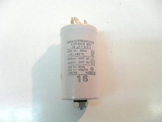 Condensatore lavatrice Wega White WD850X cod 1.27.6sc3