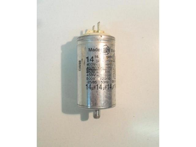 Condensatore lavatrice Zoppas PR43C cod 16.25.5891