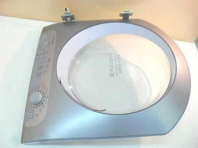 oblò   lavatrice ariston hotpoint aqsl 109it/ha completo di scheda comandi cod: 30411555