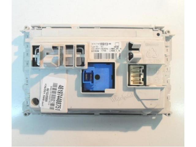 Scheda main lavatrice Whirlpool cod 461974488751