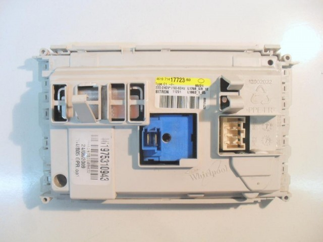 Scheda main lavatrice Whirlpool cod 461975310943