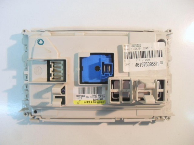 Scheda main lavatrice Ignis LOE1050 cod 461975305571
