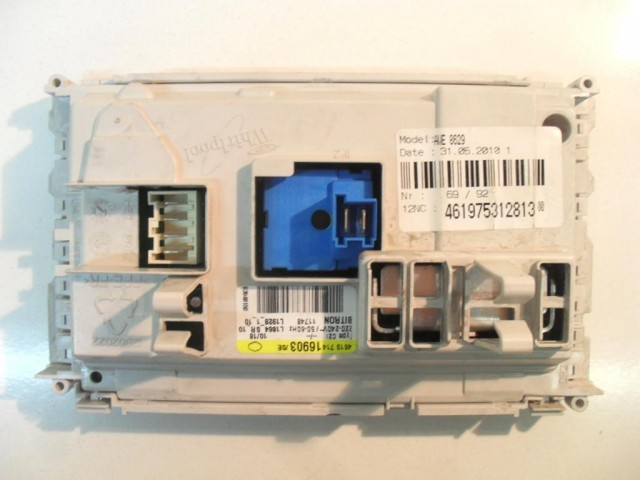 Scheda main lavatrice Whirlpool AWE8629 cod 461975312813
