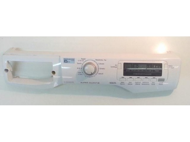 frontale   lavarice hoover dyns 6104dz-30 completo di scheda 41031905