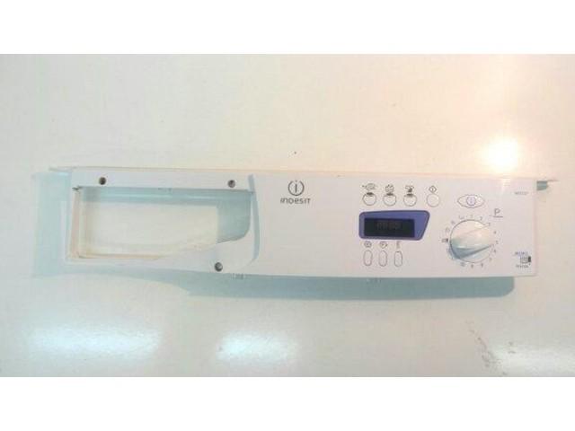 frontale   lavatrice wie 107 completo di scheda comandi 21013014701