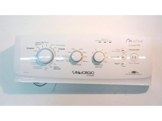 frontale    lavatrice sangiorgio sgt3855 completo di scheda 253304267-07/43