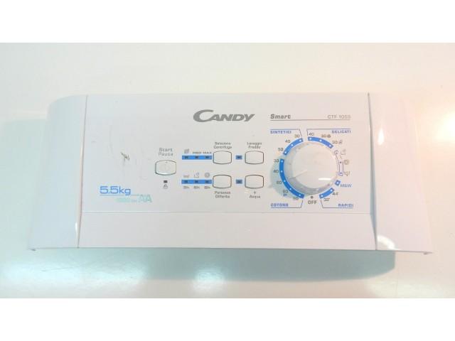 frontale    lavatrice candy ctf 1055 completo di scheda 31002728